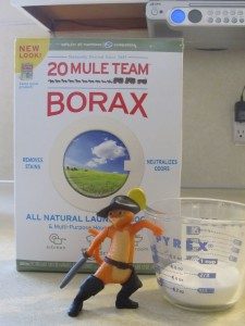 Step 2 - Measure Borax